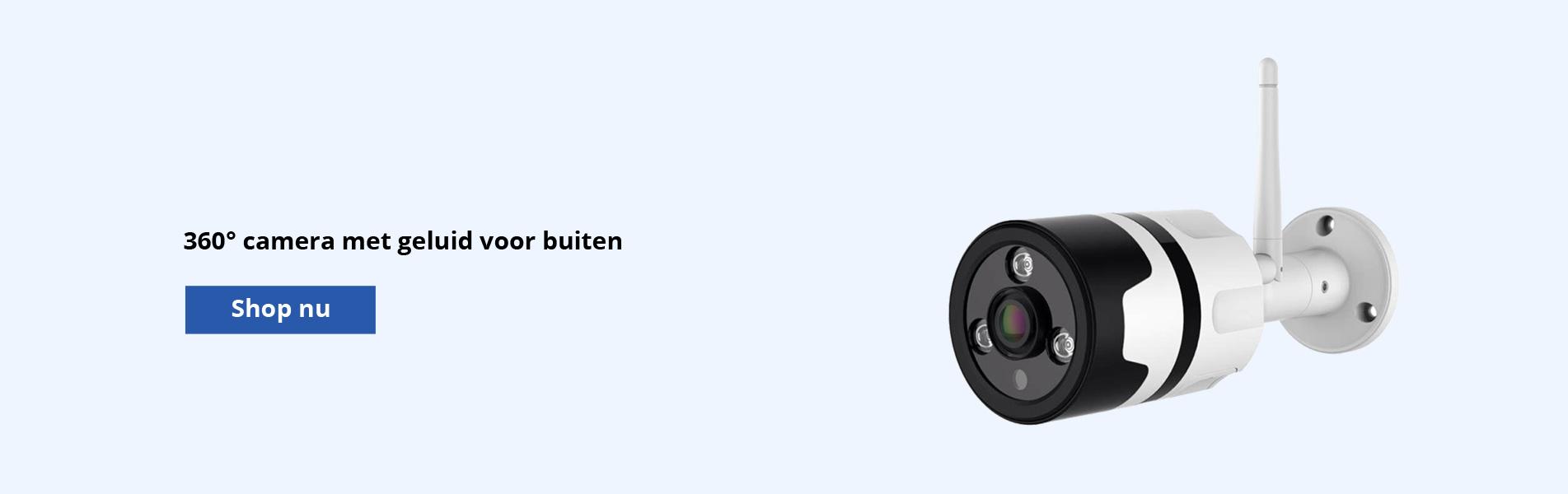 360 graden camera voor buiten