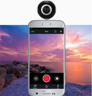 360° VR actie camera compatible met android