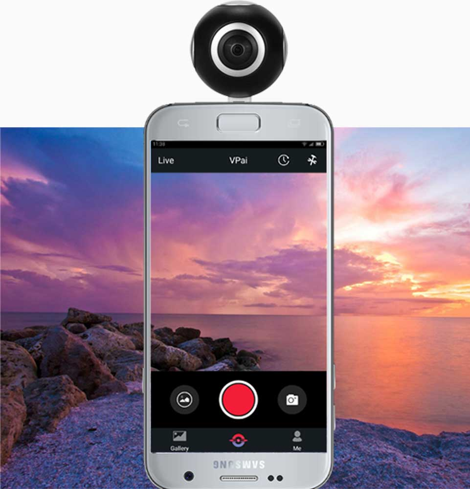 360° VR actie camera android