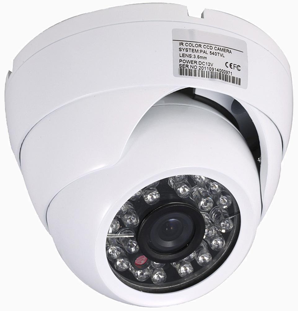 Full HD 4 in 1 beveiligingscamera: AHD/TVI/CVI/Analoog