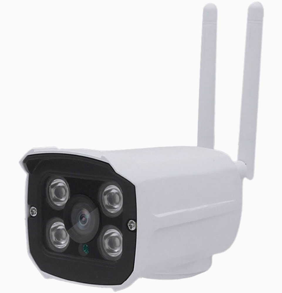 HD Wifi IP-camera voor buiten met Micro SD card slot