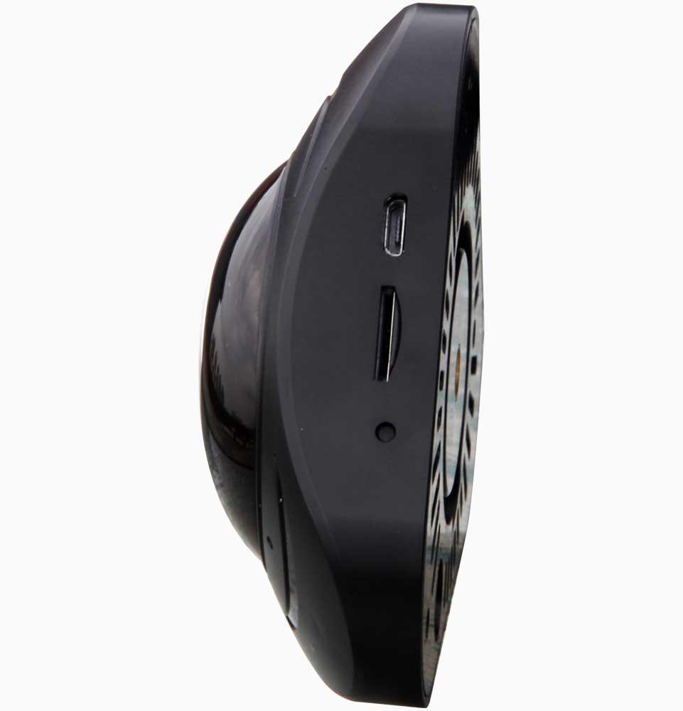 360 graden camera, met geluid, IP65 en micro SD kaart slot