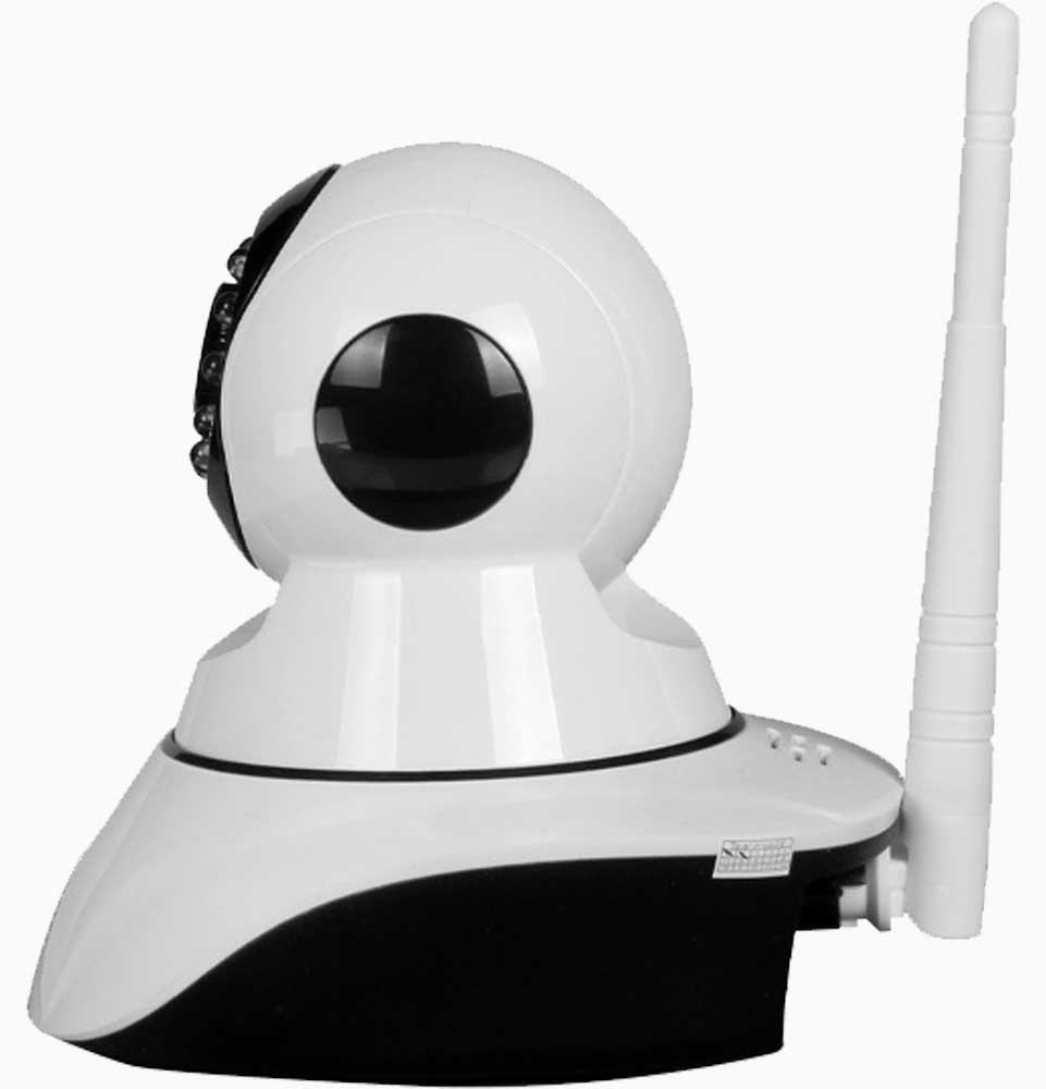 Wifi beveiligingscamera 1,3 MP te bedienen met de YooSee app