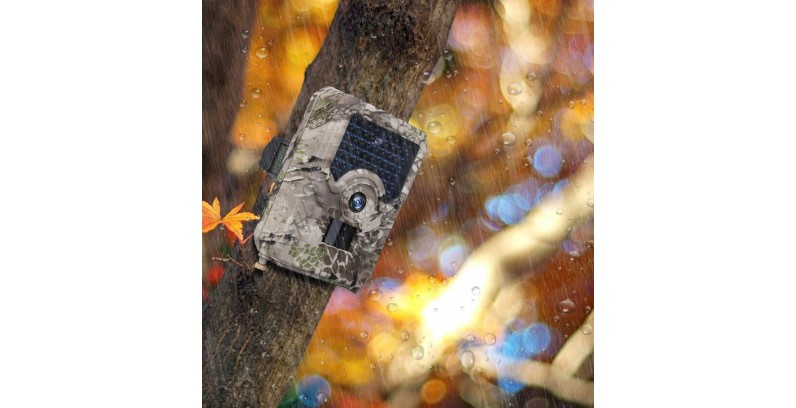 Beveiligingscamera zonder stroom