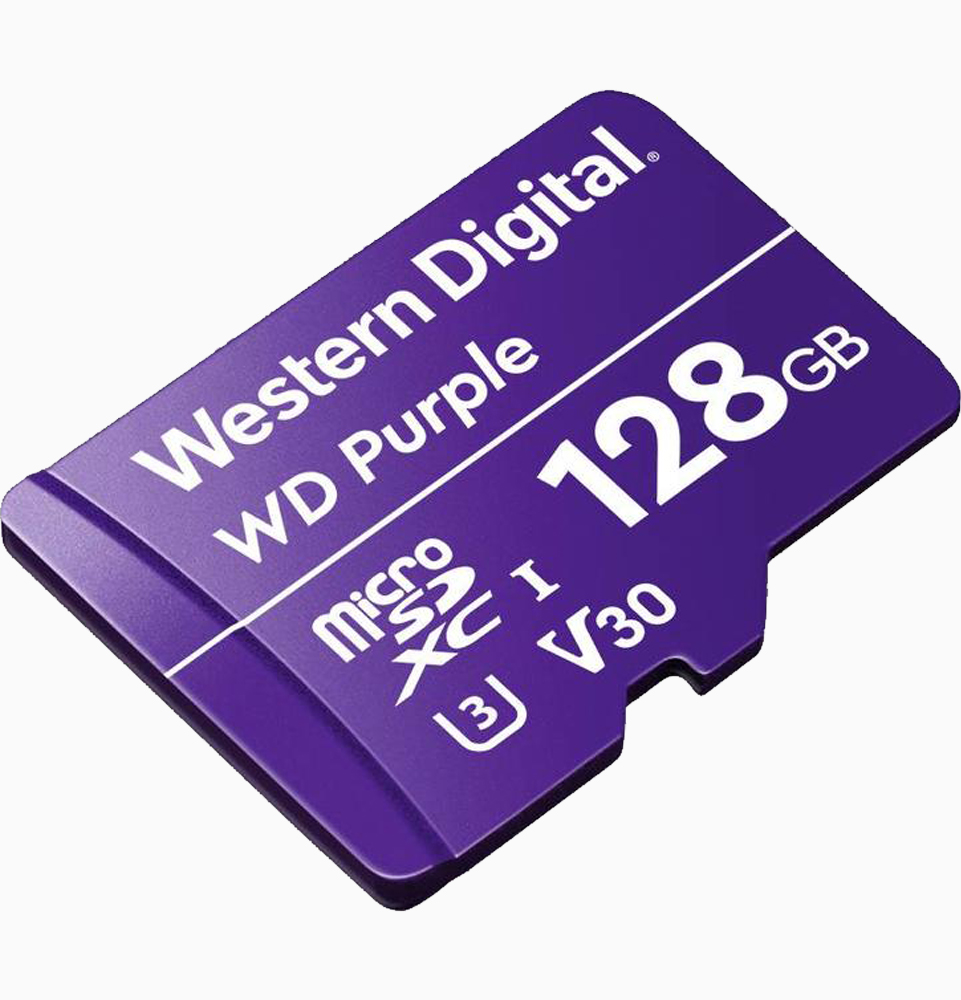 WD purple 128GB micro SD kaart