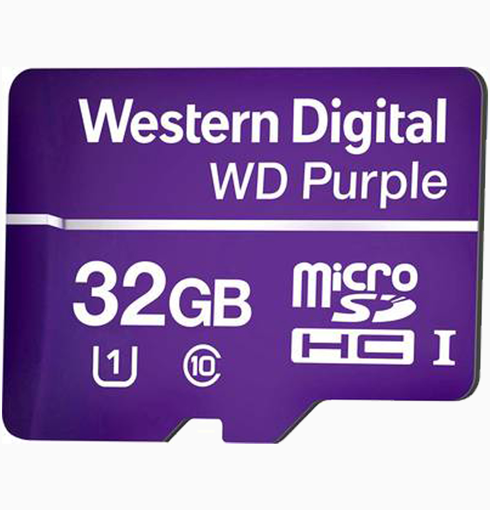 WD purple 32GB micro SD kaart