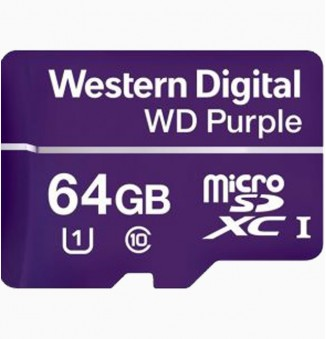 WD purple 64GB micro SD kaart