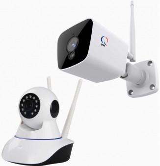 Beveiligingscamera + app