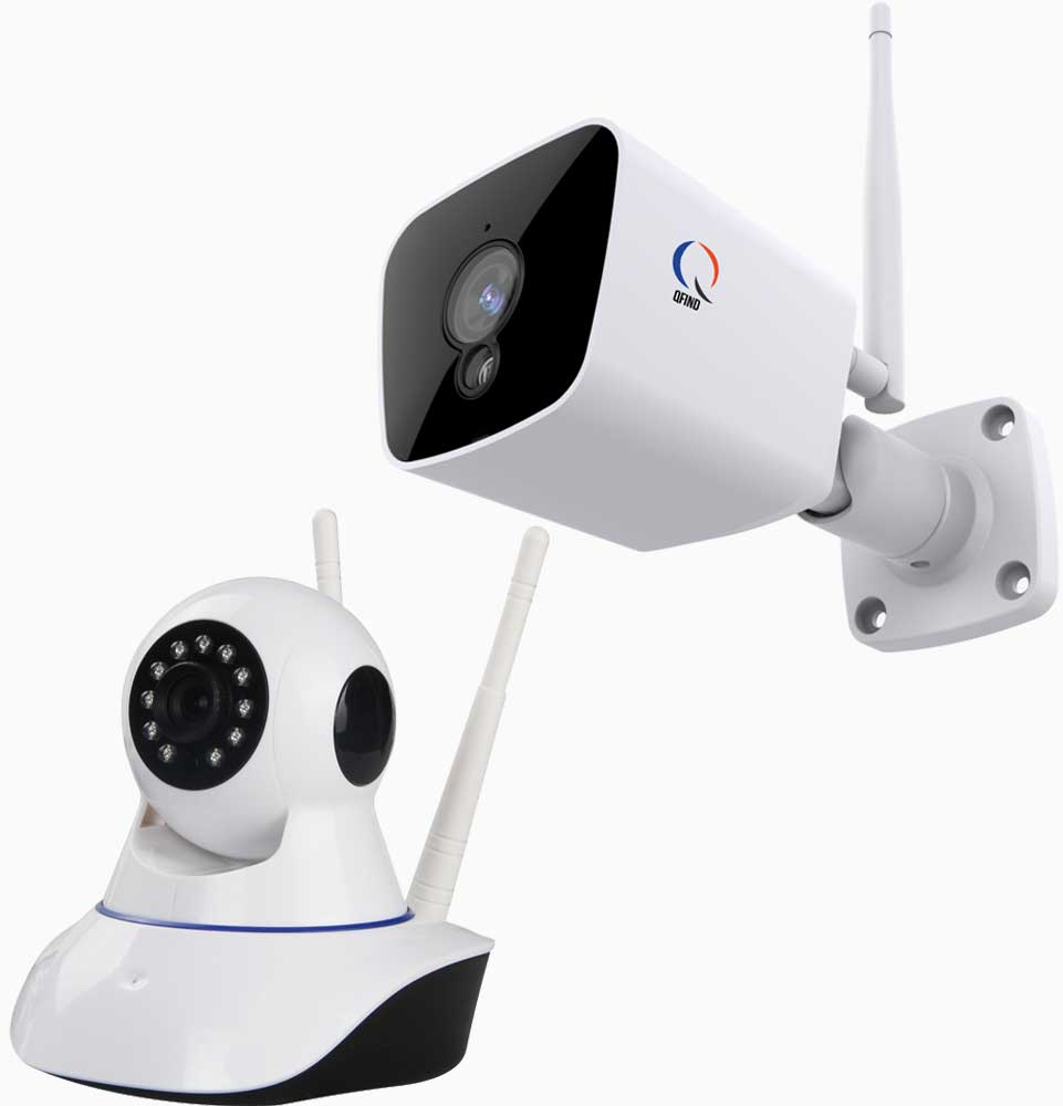 Beveiligingscamera set met app