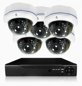 Dome IP camera set