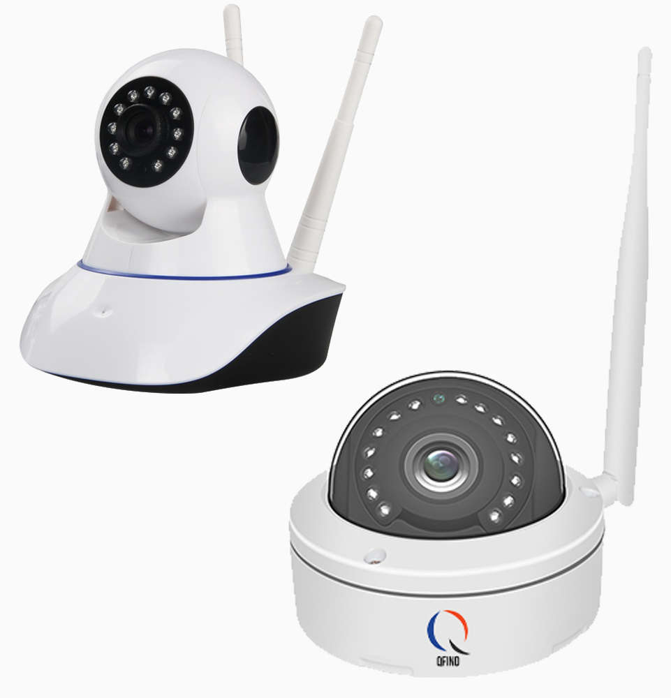Dome wifi camera set