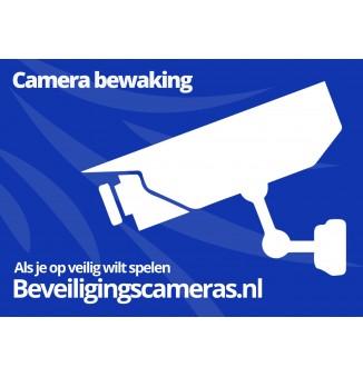 camera beveiliging sticker achter glas