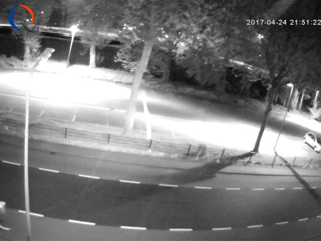 4MP dome camera nacht zicht